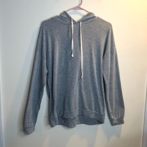 Forever 21 Grey Thin Hoodie